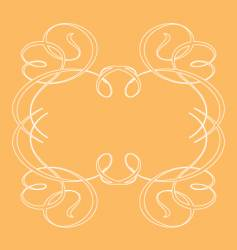 ornamental frames vector image