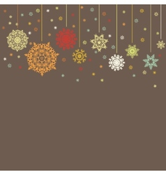 Design for xmas card background EPS 8 vector image