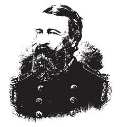 General david d porter vintage vector