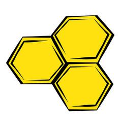 Honeycomb icon icon cartoon vector
