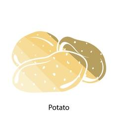 Potato icon vector image vector image