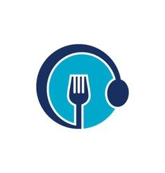 Restaurant symbol vector image vector image