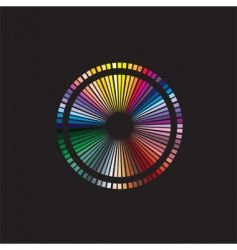 Color spectrum vector