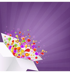 Colorful Box vector image