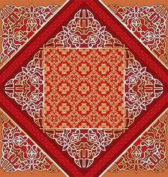 Arabesque background vector