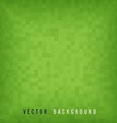 Green pattern mosaic background vector image vector image