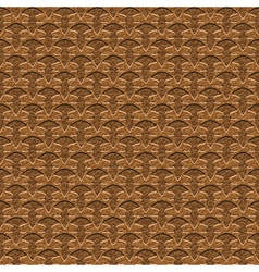 ornate leather vector image vector image