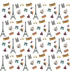 Paris pattern vector image vector image