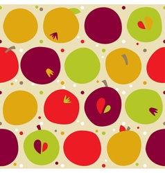 Pattern from apple vector
