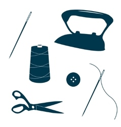 Tailor design elements vector