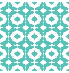 Abstract aqua green butterfly diamond vector