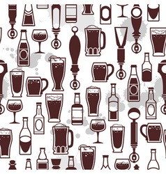 Beer tap icons vector