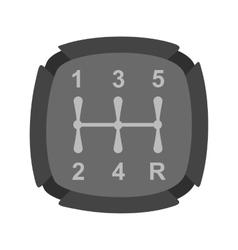 Car Shifter vector image