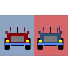Cars Flat Style vector image vector image