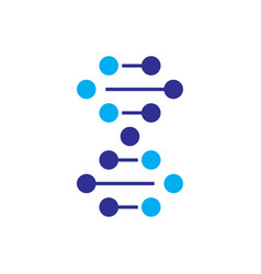 Dna icon dna logo dna symbol vector