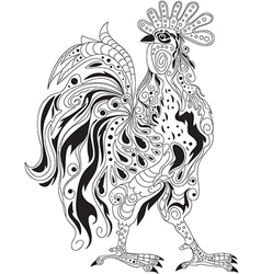 Rooster design vector image vector image