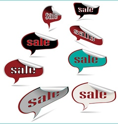 Tickets sale vector image