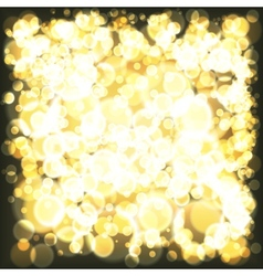 Lights background holiday abstract glitter vector