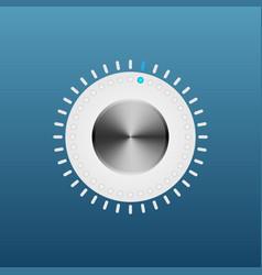 Button regulator vector