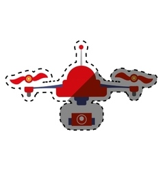 Drone robot technology vector image vector image