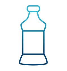 Empty bottle isolated vector