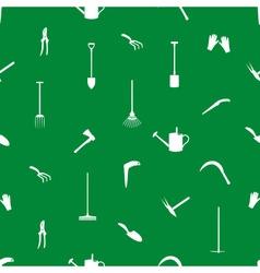 Gardening tools pattern eps10 vector