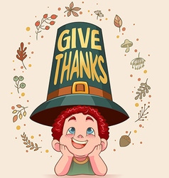 Givethanks vector