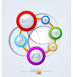 Elements for web design vector