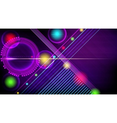 Abstract technology-style background vector
