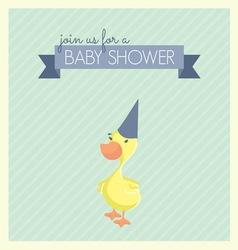 baby shower patka1 vector image