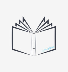 book icons sign for your company vector image vector image
