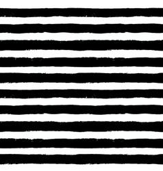 Brush strokes black white pattern vector