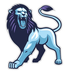 Lion stance vector