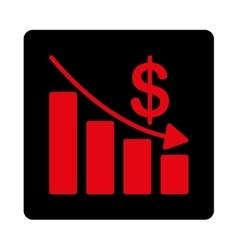 Recession Icon vector image vector image