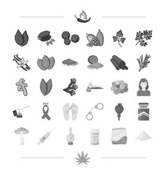 spices business hobbies and other web icon in vector image