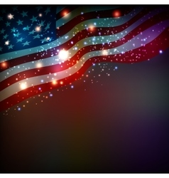 Abstract background for 4th of july vector