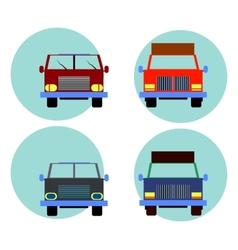 Cars icon set vector