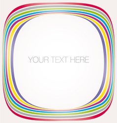 Abstract colorful frame vector