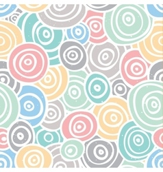 Pop art retro seamless background vector