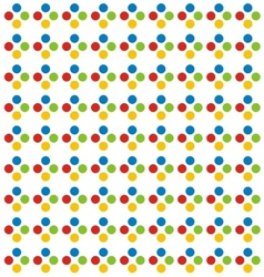 Colorfull Dot Pattern vector image