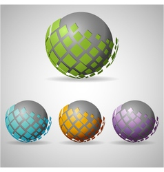 Sphere abstract vector