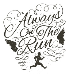 Always on the run vector