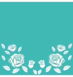 Vintage rose decorative piece of background vector
