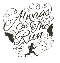 Always on the run vector