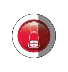 Remote control car key vector