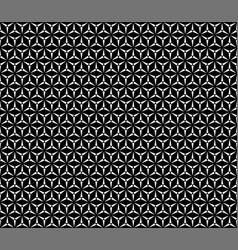 seamless pattern simple triangular texture vector image vector image