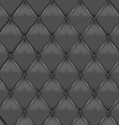 Gray leather upholstery vector
