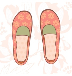 Girly shoes vector