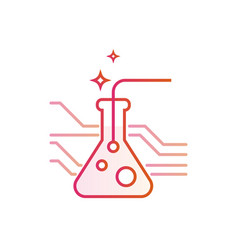 Chemistry development medicine and pharmacy vector