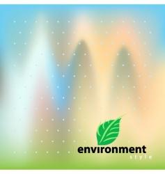 environment bio style vector image